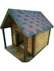 Весь дом Будка для собаки «Биг Дог» с утеплением 160х120х140 см