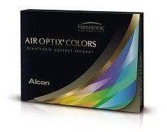 Контактные линзы Контактные линзы Alcon Air Optix Colors (Brilliant Blue)