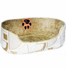 Dogman Лежак овальный для кошек и собак «Тапико» 50х56х20 см