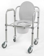 Санитарное приспособление Valentine I. LTD Кресло-туалет складной на колесах 10581Ca