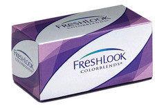 Контактные линзы Контактные линзы CIBA Vision Freshlook Colorblends Серебряный серый (Sterling Grey)