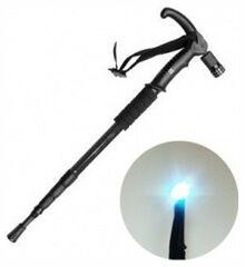 Bradex Трость телескопическая с подсветкой «ОПОРА»