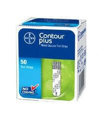 Глюкометр Глюкометр Bayer AG Тест-полоски к Contour Plus, 50 шт