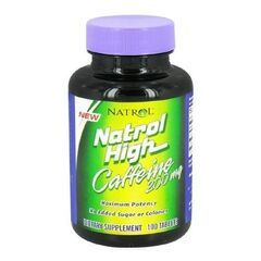 Natrol High Caffeine 200мг 100 капсул