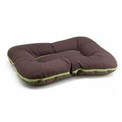 Comfy Лежак-подушка для собак Arnold коричнево-оливковая 120х100х14 см