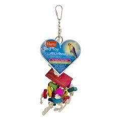 Beeztees Игрушка для птиц из веревки и пластика (маленькая)