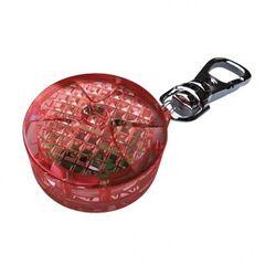 Ошейник и поводок Trixie Брелок-маячок, пластик (красный)