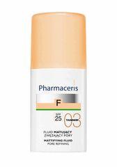 Pharmaceris Матирующий тональный флюид SPF 25 (тон: 03), 30 мл