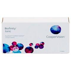 Контактные линзы Контактные линзы Cooper Vision Biofinity Toric (3 линзы)