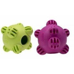 Comfy Игрушка для собаки мяч-мина SNACKY BALL плавающая фиолетовая