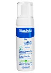 Mustela Пенка-шампунь для новорожденных с дозатором для детей 150мл