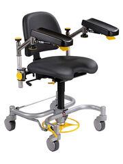Медицинское оборудование Rini Операционное кресло хирурга Carl Spring (c тормозами H и широкой базой)