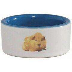 Beeztees Миска керамическая с изображением хомяка
