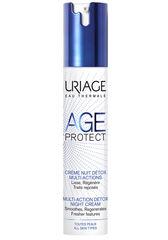 Uriage Крем-детокс для лица AGE PROTECT CREME NUIT DETOX MULTI-ACTIONS многофункциональный ночной 40 мл