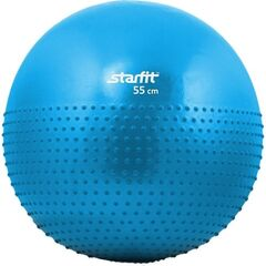 Starfit Мяч гимнастический GB-201 55 см blue, антивзрыв