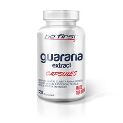 Be first Guarana extract capsules, 120 капсул