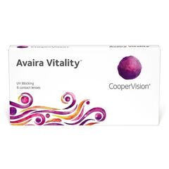 Контактные линзы Контактные линзы Cooper Vision Avaira Vitality (6 линз)