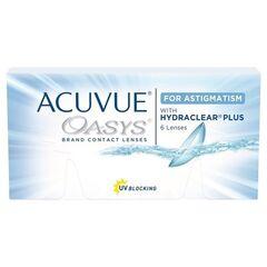 Контактные линзы Контактные линзы Acuvue OASYS for Astigmatism with Hydraclear Plus (6 линз)