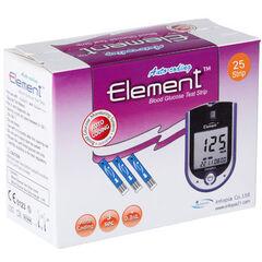 Infopia Тест-полоски для определения уровня глюкозы в крови Element 25 шт