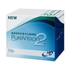 Контактные линзы Контактные линзы Bausch+Lomb Pure Vision 2HD