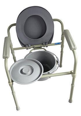 Санитарное приспособление Valentine I. LTD Кресло-туалет складной 10580 - фото 5