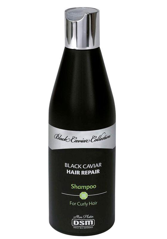 Mon Platin Шампунь для вьющихся волос восстанавливающий с экстрактом черной икры 400 мл - фото 1
