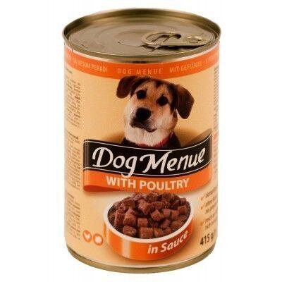 Dog Menu Влажный корм для собак с курицей 415гр. х 10 шт. - фото 1