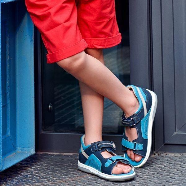 Memo Детская ортопедическая обувь Szafir 1CH - фото 2
