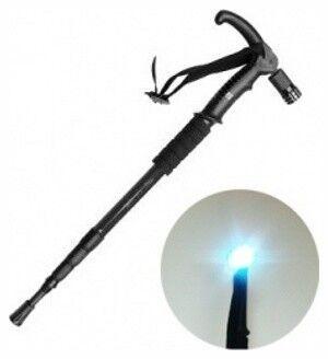 Bradex Трость телескопическая с подсветкой «ОПОРА» - фото 1