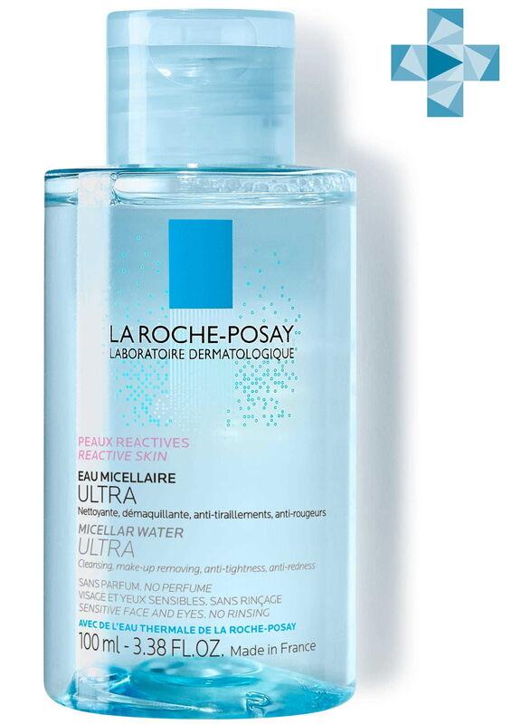 La-Roche-Posay ULTRA REACTIVE Мицеллярная вода для чувствительной и склонной к аллергии кожи лица и глаз, 100 мл - фото 1