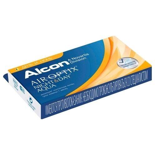 Контактные линзы Air Optix (Alcon) Night & Day Aqua (3 линзы) - фото 2