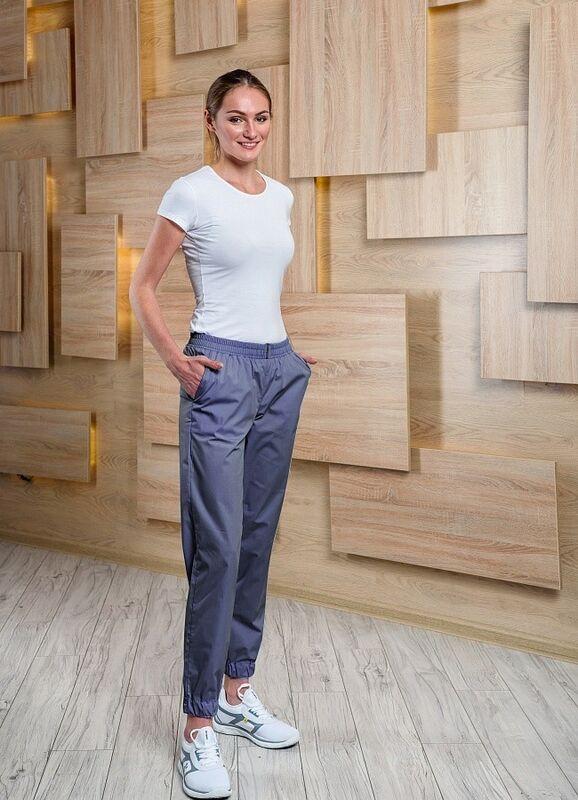 Доктор Стиль Медицинские брюки женские «Релакс» графит Брю 3403.20 - фото 1
