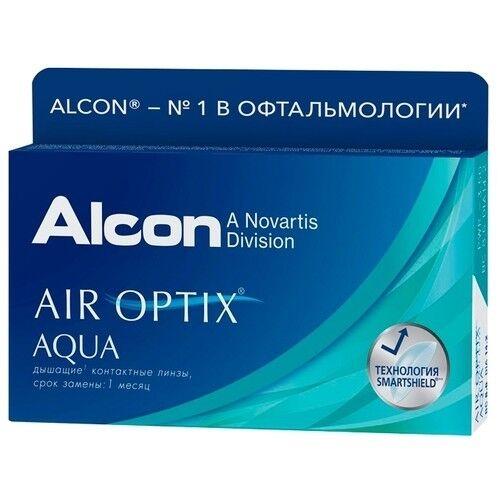 Контактные линзы Air Optix (Alcon) Aqua (3 линзы) - фото 2