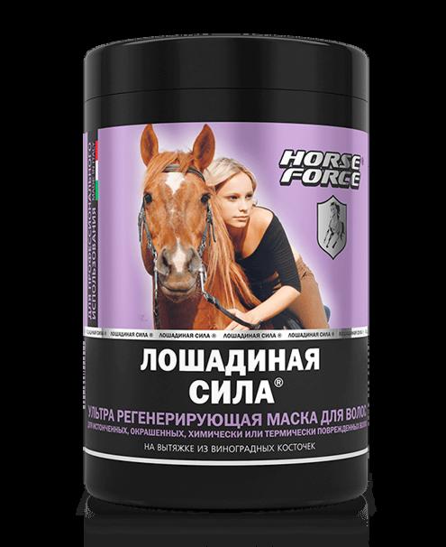 Хорс Форс Ультра Маска для волос регенерирующая на вытяжке из виногадных косточек 1 л - фото 1