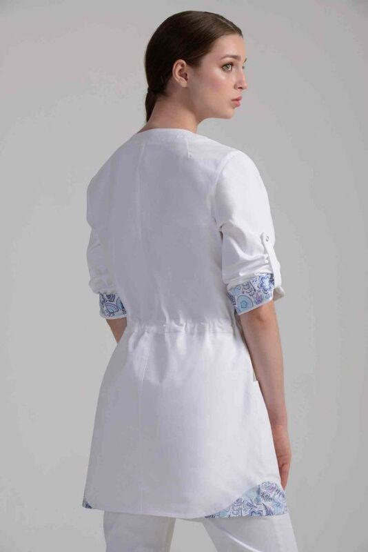 Аткарская швейная фабрика – Элит Блуза женская медицинская 21-2109 - фото 3