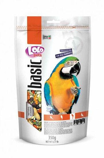 Lolo Pets Корм для крупных попугаев Doypack, 350 г - фото 1