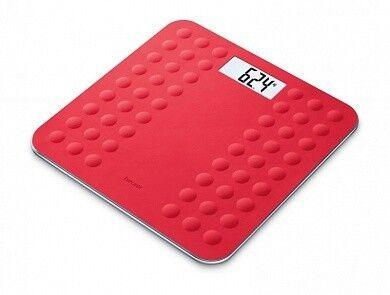 Beurer Весы напольные GS 300 Красные (Бойрер) - фото 1
