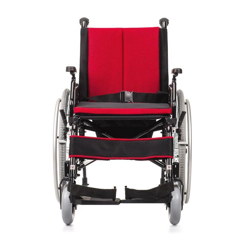 MDH Sp. z o.o. Кресло-коляска инвалидная Cameleon (красное) - фото 2