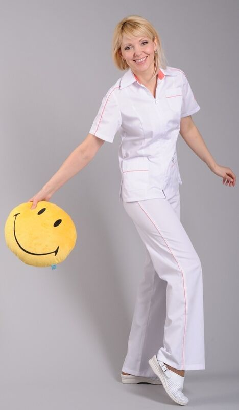 Доктор Стиль Блуза медицинская женская Клео (лл2224) - фото 2