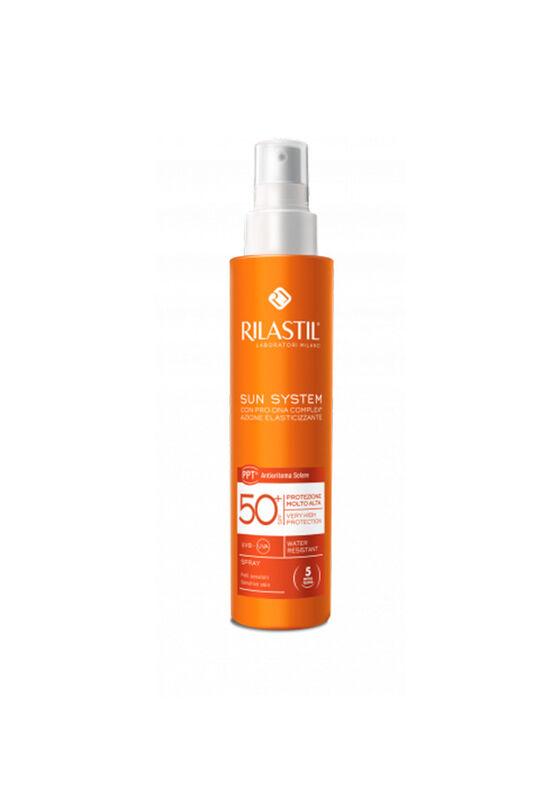 Rilastil Спрей для чувствительной кожи с pro-DNA complex SUN SYSTEM PPT SPF 50+, 200 мл - фото 1