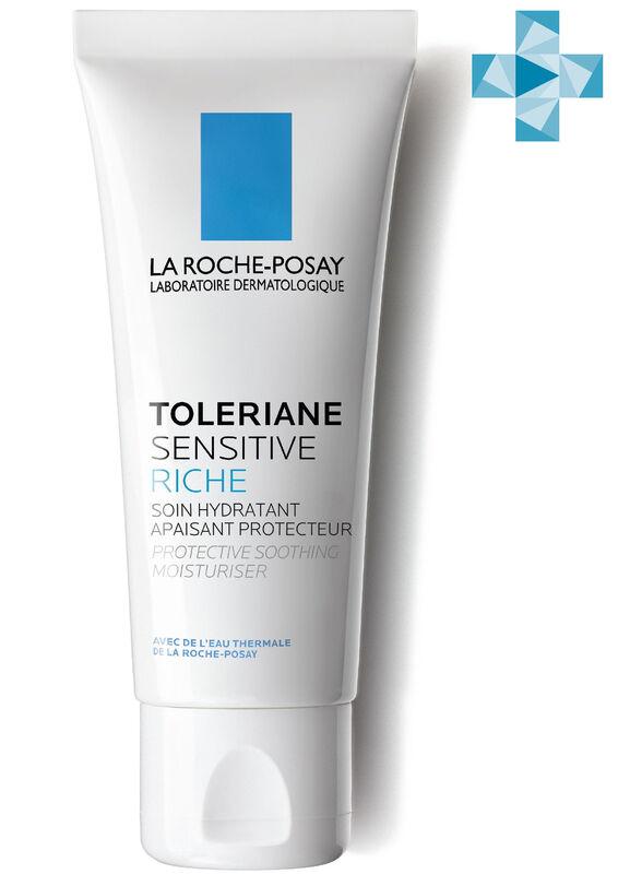 La-Roche-Posay TOLERIANE SENSITIVE Riche Увлажняющий уход для сухой чувствительной кожи с пребиотической формулой, 40 мл - фото 1
