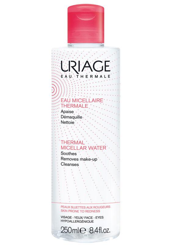 Uriage Вода мицеллярная очищающая на основе термальной воды для чувствит. кожи и контура глаз, 250 мл - фото 1