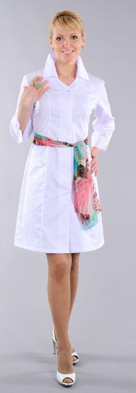 Доктор Стиль Халат медицинский женский Барбара (лл2124) - фото 1