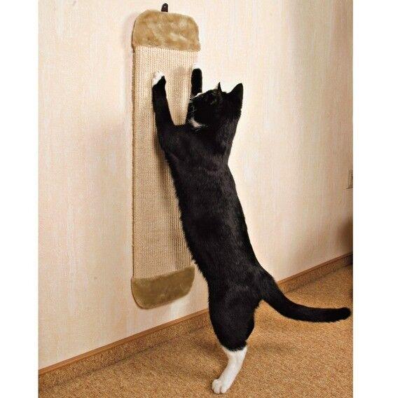 Когтеточка Trixie Когтеточка с креплением на стену, бежевая - фото 1