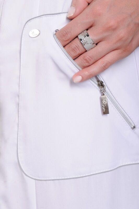 Доктор Стиль Халат медицинский женский Кристи (лс3126) - фото 2