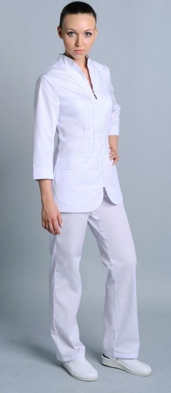 Доктор Стиль Блуза медицинская женская Жасмин (лу1225) - фото 4