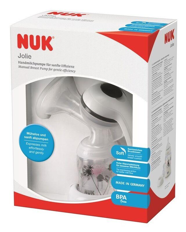 Молокоотсос NUK Молокоотсос ручной JOLIE - фото 2
