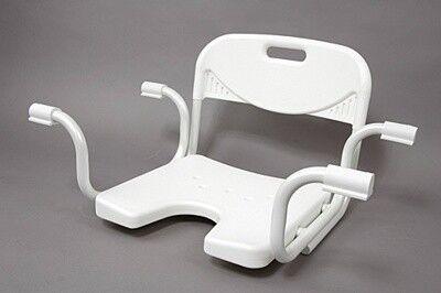 Санитарное приспособление No brand Сиденье для ванной с гигиеническим вырезом - фото 1