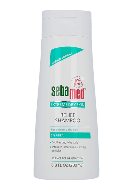 Sebamed Шампунь для очень сухих волос EXTREME DRY SKIN relief shampoo 5 % urea 200 ml - фото 1