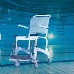 Санитарное приспособление Invacare Кресло коляска для душа Ocean - фото 3